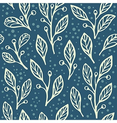 Floral seamless pattern 3 vector image