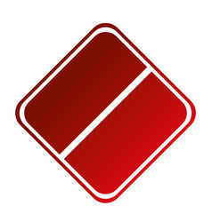 Forbidden sign icon vector