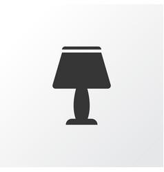 lamp icon symbol premium quality isolated light vector image