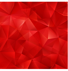 Red bright background with triangle shapes vector