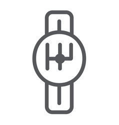 transmission line icon car and part gearbox sign vector image