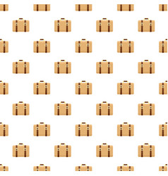 Trip leather bag pattern seamless vector
