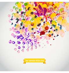 Watercolor spray texture Watercolor spray vector