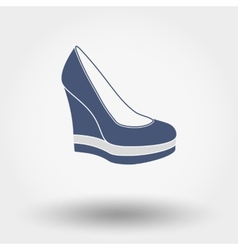 Women shoes vector image