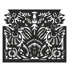 pattern in frame vector image