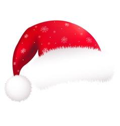 Santa Clause Hat vector image vector image