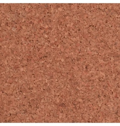 Cork Texture Background vector image