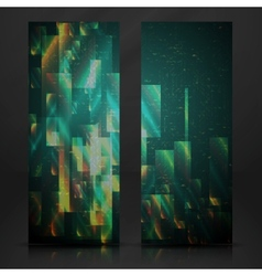 Abstract Geometric Banner vector image vector image