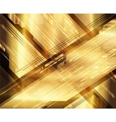 Art abstract geometric textured golden background vector
