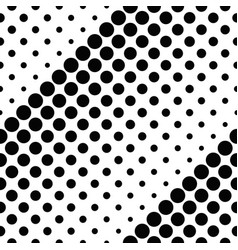 black and white abstract geometrical circle vector image