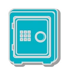 box safe money icon design vector image