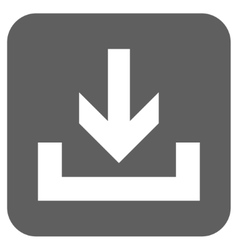 Downloads Flat Squared Icon vector