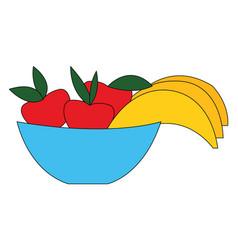fruit hand drawn design on white background vector image
