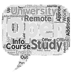 Info event open university duisburg text vector