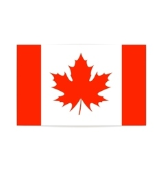 The canadian flag patriotism vector image