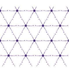 Thin shibori tie dye cross diamond background vector