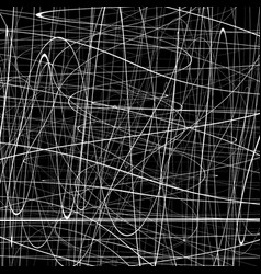 Abstract pattern with squiggly squiggle lines vector