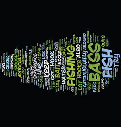 Bass guitar essentials text background word cloud vector