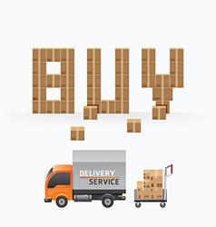 Business box sale shape template designs vector