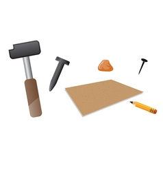 Carving tools vector