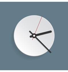 Clock face Set up your time vector image