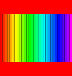colorful gradient background made rainbow vector image