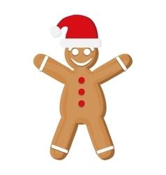 Coockie of Christmas season design vector