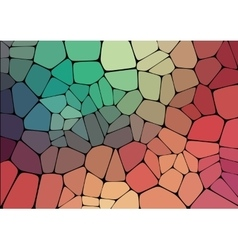 Flat Style colorful mosaic abstract background vector image vector image