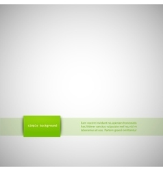 Simple gray background with color inserts vector image