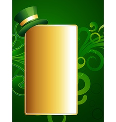 st patricks day design vector image