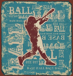 BASE BALL SPORT vector image vector image