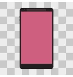 smartphone icon vector image