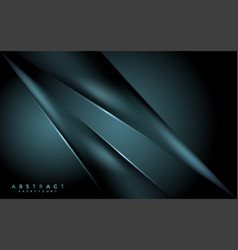 Dark navy green background with abstract modern vector