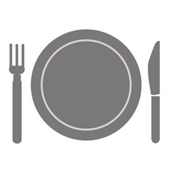 Fork and knife menu vector