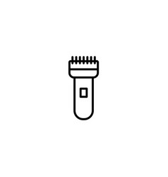 hair clippers icon vector image