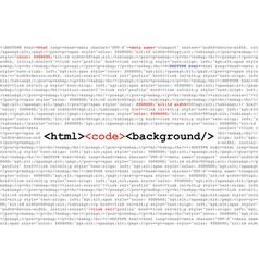 Html code abstract background vector
