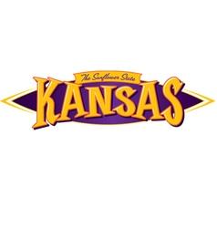 Kansas The Sunflower State vector