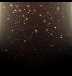 Luxury greeting rich card star dust light vector