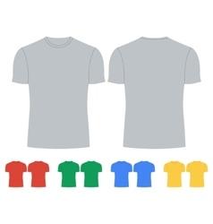 Tshirt Icon Concept for design vector image vector image