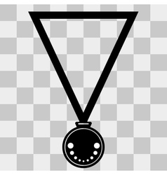 Medal Icon on transparent background vector image vector image