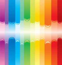 rainbow cover vector image vector image