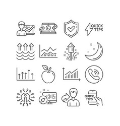 Education fireworks and success business icons vector