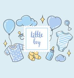 happy birthday greeting and invitation card vector image