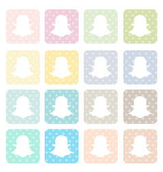 Icons-social1 vector