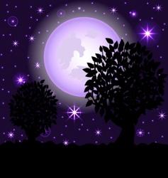 night scene2 vector image