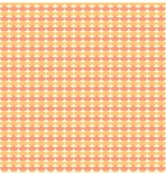 Orange ginkgo biloba leaves seamless pattern vector image