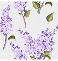 Vintage lilac seamless vector image