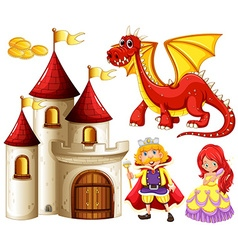 Fairytales vector image