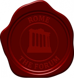 forum sealing wax vector image vector image