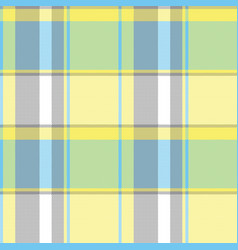 abstract lite color check pixel plaid seamless vector image